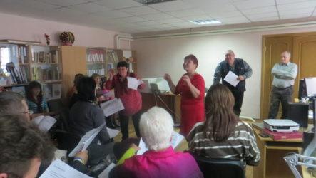 Підвищення виконавської майстерності вокально-хорових колективів