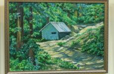 Художниця Людмила Бєлосвєт представила 30 картин на персональній виставці
