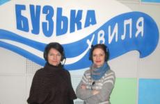 Презентація акції «Майстри барвистої палітри» в ефірі радіо «Бузька хвиля»