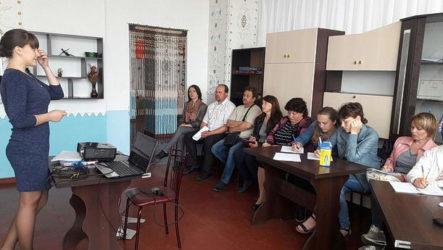Творча лабораторія у Веселинівському районі