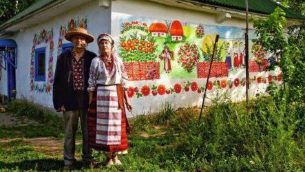Традиції декоративного розпису житла в культурах народів світу