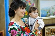 Відбулося відкриття першої персональної виставки Любові Садовської