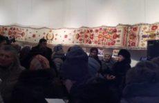 Як презентували Рушник Національної Єдності за участю майстринь НТО «Прибужжя»