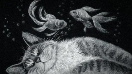 Персональна виставка Інни Данченко «Живопис без фарб»