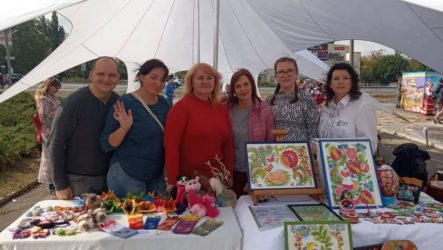 Майстри НТО «Прибужжя» на Всеукраїнському фестивалі «Дружба 2019»
