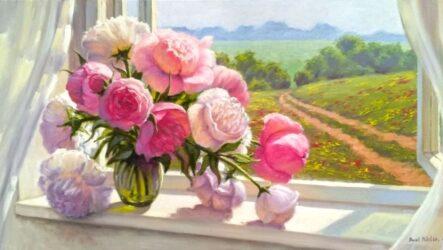 Панська квітка або півонія: розмаїття назв, символіка й роботи сучасних митців Миколаївщини