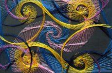 Нитяна графіка: становлення, інструменти й матеріали, основи вишивки та особливості сучасних робіт
