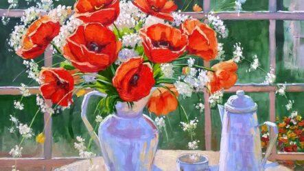 Квітка маку: міфологія, символіка, роботи митців Миколаївщини