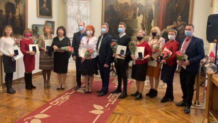 Відзначили лауреатів премії імені Миколи Аркаса