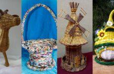 Паперова лоза: історія ремесла, мистецтво плетіння та вироби миколаївських майстрів
